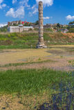 SELCUK, TURKEY - MAY 3, 2015: Ruins of famous Temple of Artemis Ephesus Stock Photo