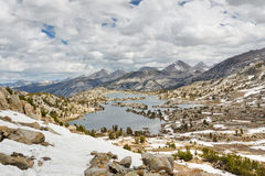 Selden Pass in the Sierra Nevada. California, USA Stock Images