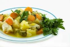 Selderie met wortel?. Stock Fotografie