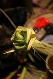 Seldmade de la decoración por el bambú Imagen de archivo