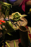 Seldmade de la decoración por el bambú Fotos de archivo libres de regalías