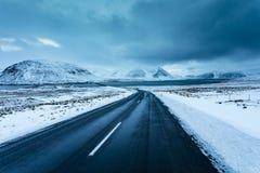 Seldrive Odkrywa południe Za zachód od Iceland Zdjęcia Royalty Free