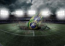 Seleção Superioridade DA brasileira Stockfoto
