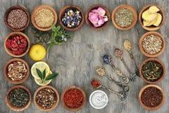 Seleção da tisana Imagens de Stock Royalty Free