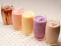 Seleção de bebidas longas dos frutos Foto de Stock Royalty Free