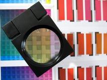 Seleção de cor Imagem de Stock