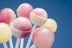 Seleção de Lollipops dos doces Fotografia de Stock Royalty Free