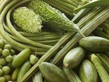 Seleção de vegetais asiáticos Fotografia de Stock Royalty Free
