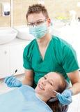Seleção dental periódica imagem de stock