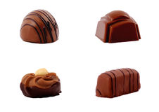 Seleção do chocolate Imagens de Stock