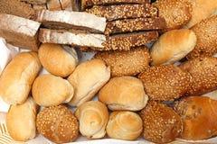 Seleção do pão Fotos de Stock Royalty Free