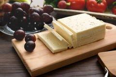 Seleção do queijo - orgânico Produtos lácteos Fotografia de Stock Royalty Free