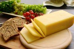 Seleção do queijo - produtos láteos orgânicos Imagem de Stock Royalty Free