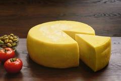 Seleção do queijo - produtos láteos orgânicos imagens de stock