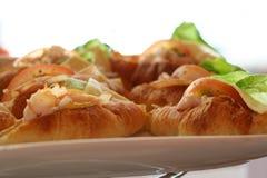 Seleção dos croissants Fotografia de Stock Royalty Free
