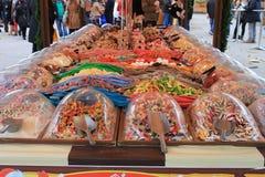 Seleção dos doces Fotografia de Stock Royalty Free