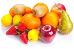 Seleção dos frutos frescos Fotografia de Stock