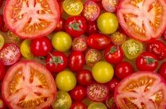 Seleção dos tomates Foto de Stock