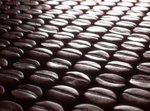 Selección asada de los granos de café foto de archivo libre de regalías