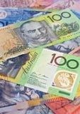 Selección australiana del dinero Foto de archivo libre de regalías