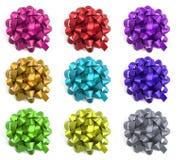 Selección de arqueamientos coloridos fotos de archivo libres de regalías