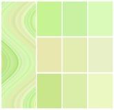 Selección de color para el interior Imagen de archivo