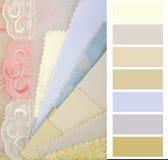 Selección de color para el interior fotografía de archivo