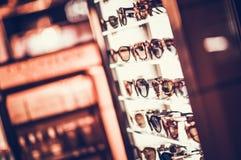 Selección de gafas de sol imágenes de archivo libres de regalías