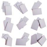 Selección de Gray Book Piles Imágenes de archivo libres de regalías