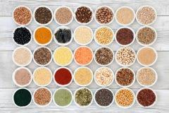 Selección de la comida sana del Detox del hígado foto de archivo