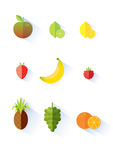 Selección de la fruta Fotografía de archivo