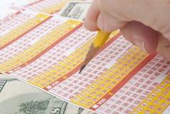 Selección de la loteria Imagen de archivo