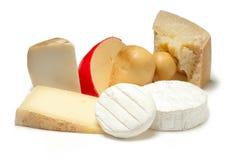 Selección de queso Foto de archivo