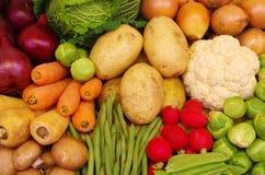Selección de verduras Fotos de archivo