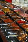 Selección del alimento Foto de archivo libre de regalías