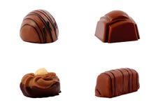 Selección del chocolate Imagenes de archivo