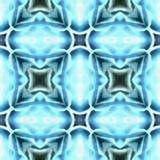 Selección del fractal del batik pintada Foto de archivo