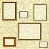 Selección del marco de la vendimia Fotos de archivo libres de regalías