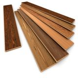 Selección del piso de entarimado stock de ilustración