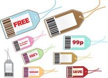 Selección del precio Imágenes de archivo libres de regalías
