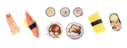 Selección del sushi Imagen de archivo libre de regalías