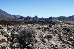 Selección del volcán de Teide en Tenerife foto de archivo libre de regalías