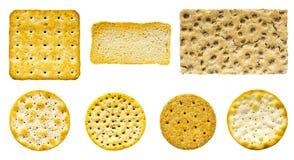 Selección sabrosa de la galleta y de la galleta Fotografía de archivo