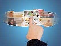 Selecionando imagens foto de stock royalty free