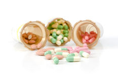 Meds on White Royalty Free Stock Photo