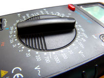 Select. An electrical tester function selector Royalty Free Stock Image