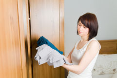 Select clothes Stock Images
