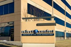Select Comfort Corporate Headquarters and Sign Royalty Free Stock Photo