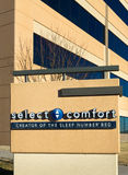 Select Comfort Corporate Headquarters and Sign Royalty Free Stock Photos