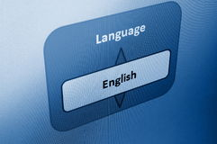Select language Stock Photography